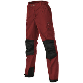 Pinewood Lappland Pantaloni Bambino, chili red/black